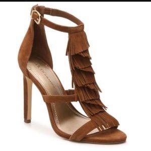 BCBG Chari Fringe Sandals
